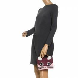 Karl Lagerfeld Multicolor Leather Mini KlKlassik Fun Shoulder Bag