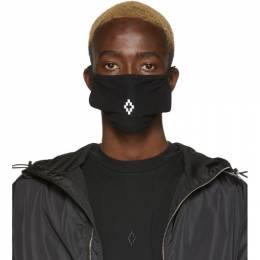 Marcelo Burlon County Of Milan Black and White Cross Mask CMRG003R20JER0041001
