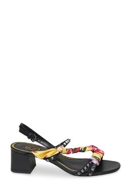 Черные босоножки с текстильным декором Ash 6170067