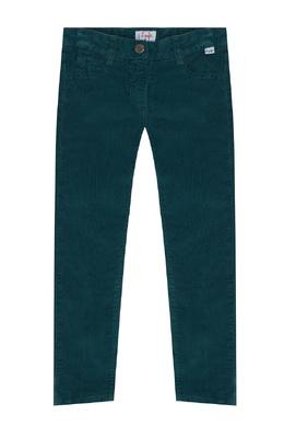 Зеленые брюки со стрелками Il Gufo 1205170220