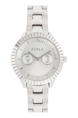 Часы с серебристым покрытием Metropolis Furla 1962170000