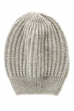 Бежевая шапка с логотипом Luisa Spagnoli 3090170721