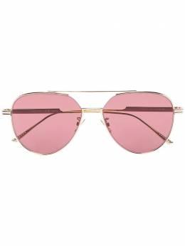 Bottega Veneta Eyewear солнцезащитные очки-авиаторы BV1013SK