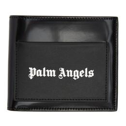 Palm Angels Black Iconic Bifold Wallet PMNC006R207230011091