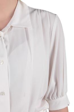 Белое платье-рубашка Love Moschino 1294172002
