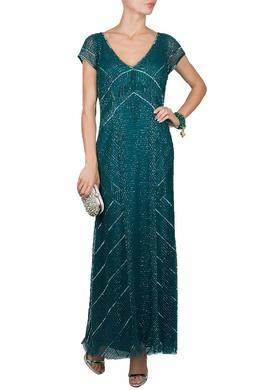 Зеленое вечернее платье Luisa Spagnoli 3090170155