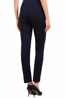 Темно-синие укороченные брюки Luisa Spagnoli 3090170852
