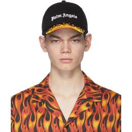 Palm Angels Black Flames Cap PMLB009R202240171088