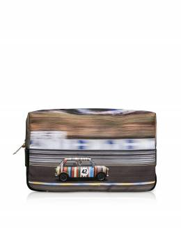 Mini Print Men's Wash Bag Paul Smith M1A 5407 AMINRC PRINTED
