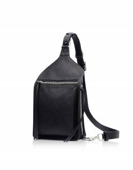 Black Leather Elliot Sing Pack Rag&Bone W294167BZ BLK