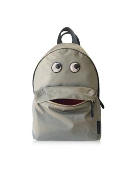 Рюкзак из Нейлона с Глазами Anya Hindmarch SS200107 LIGHT KHAKI