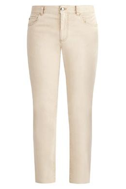 Бежевые брюки Canali 1793126789