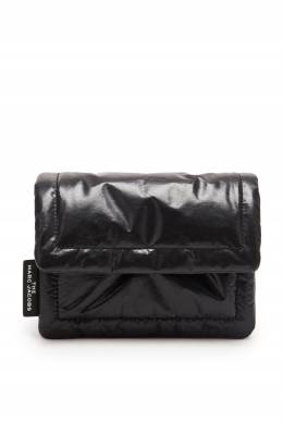 Черная кожаная сумка The Mini Pillow The Marc Jacobs 167168783