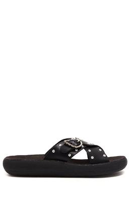 Черные пантолеты Pella Rivets Comfort Ancient Greek Sandals 537170934