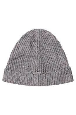 Серая шапка с фигурной отделкой Claudie Pierlot 2631155205
