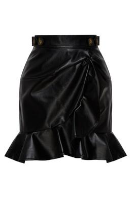 Короткая черная юбка Self-portrait 532172126