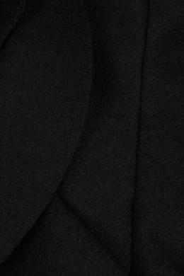 Черный топ с оборкой Ermanno Scervino 1328171525