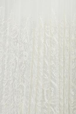 Белая плиссированная юбка с кружевом Ermanno Scervino 1328171638