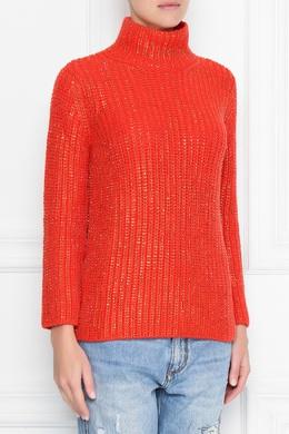 Красный свитер с отделкой кристаллами Ermanno Scervino 1328171851