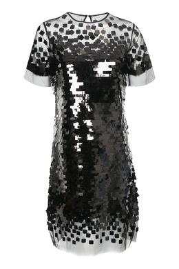 Платье с черными пайетками Ermanno Scervino 1328171710