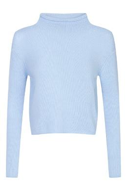 Кашемировый свитер голубого цвета Ermanno Scervino 1328171841