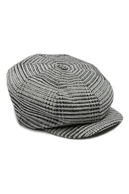 Серая шерстяная кепка с отделкой Ermanno Scervino 1328171750