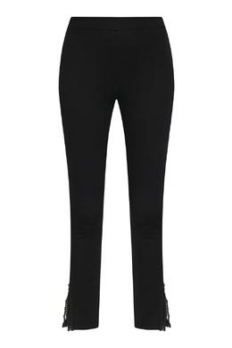Черные брюки с кружевной отделкой Ermanno Scervino 1328171783