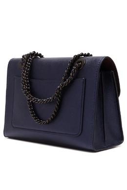 Синяя сумка Parker Coach 2219172804