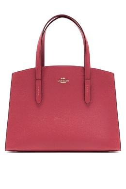 Темно-розовая сумка Charlie Carryall Coach 2219173001