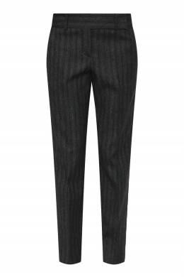 Темно-серые брюки с отделкой в полоску Ermanno Scervino 1328171929