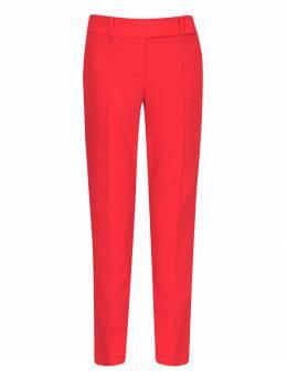 Красные шерстяные брюки со стрелками Ermanno Scervino 1328171926
