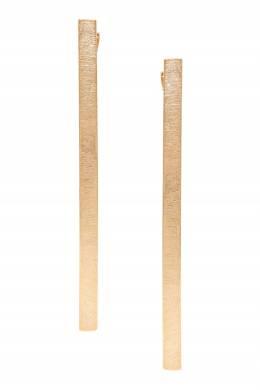 Золотистые серьги-полоски Lisa Smith 1168172876
