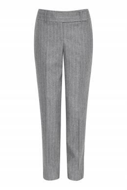 Серые брюки с отделкой в полоску Ermanno Scervino 1328171930