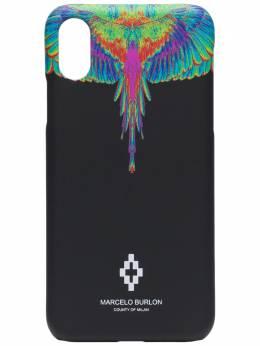 Marcelo Burlon County Of Milan чехол для iPhone XS с принтом Wings CMPA014R20MAT0021040