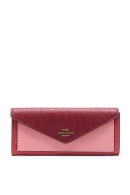 Кожаный кошелек с логотипом Coach 2219172842
