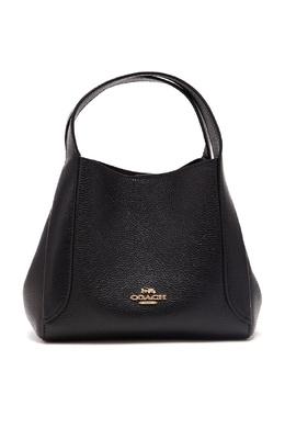 Черная сумка Hadley Hobo 21 Coach 2219172750