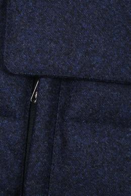Удлиненный пуховик из шерстяной ткани Isaia 2328171592
