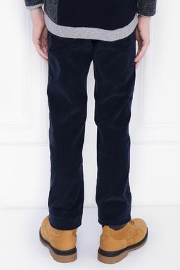 Синие вельветовые брюки Il Gufo 1205172552