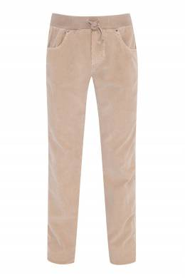 Вельветовые брюки песочного цвета Il Gufo 1205172551