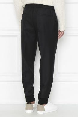 Черные брюки из шерсти Moncler 34173375