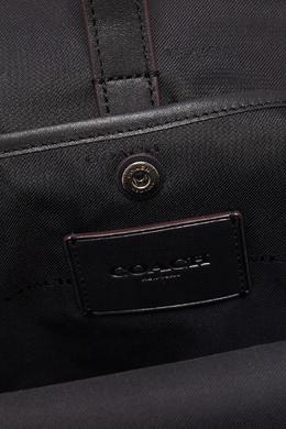 Черный кожаный рюкзак Academy Coach 2219172861