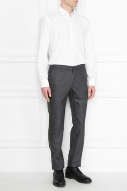 Темно-серые шерстяные брюки Incotex 3114173434