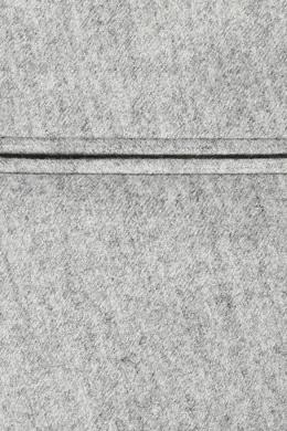Светло-серые брюки из шерсти Incotex 3114173430