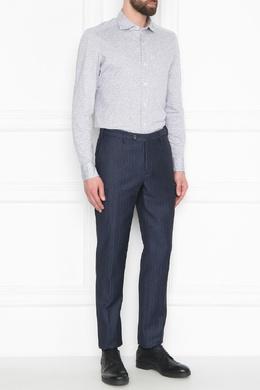 Темно-синие брюки с боковыми карманами Incotex 3114173435
