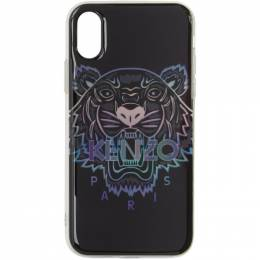Kenzo Black Limited Edition Holiday Tiger iPhone X/XS Case F96COKIFXTXM