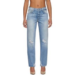 Grlfrnd Blue Helena Jeans GF40058501198