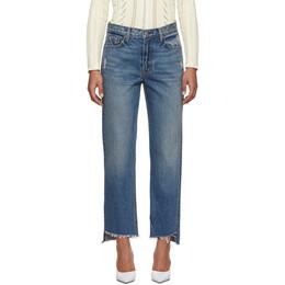 Grlfrnd Blue Helena Crop Jeans GF400553-S17