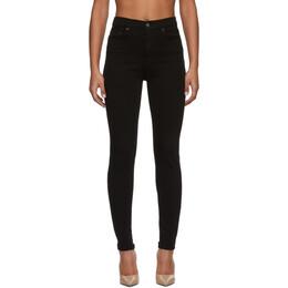 Grlfrnd Black Kendall Jeans GFDN4009RV.03