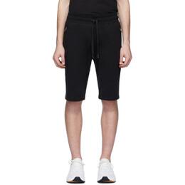 Dolce&Gabbana Black Plaque Lounge Shorts GYWCAT FU7DU