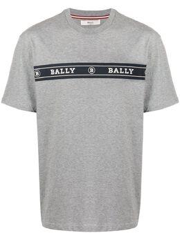 Bally футболка с логотипом 6233537